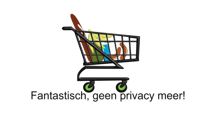 Boodschappen doen geeft privacy weg. Spiegel-Express